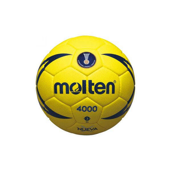 国際公認球 お歳暮 検定球の3号ボール molten 予約 モルテン ヌエバX4000 送料込 ハンドボール用ボール H3X4000 3号