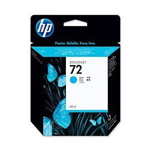 【純正品】 HP インクカートリッジ シアン 型番:C9371A(HP72) 単位:1個 送料無料!