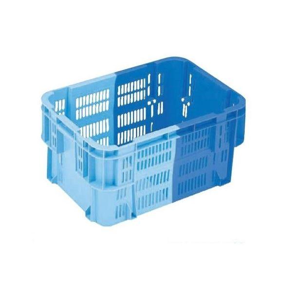 【5個セット】 業務用コンテナボックス/食品用コンテナー 【NF-M39】 ダークブルー/ブルー 材質:PP【代引不可】 送料無料!