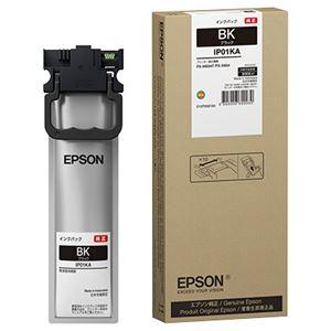 消耗品 インク メディア 純正インク ブラック エプソン 2020春夏新作 ビジネスインクジェット用 インクパック 限定特価 送料込 IP01KA 約3000ページ対応