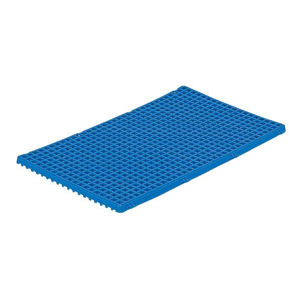 (業務用10個セット)三甲(サンコー) サンスノコ(すのこ板/敷き板) 678mm×417mm 樹脂製 #740 ブルー(青) 【代引不可】 送料込!