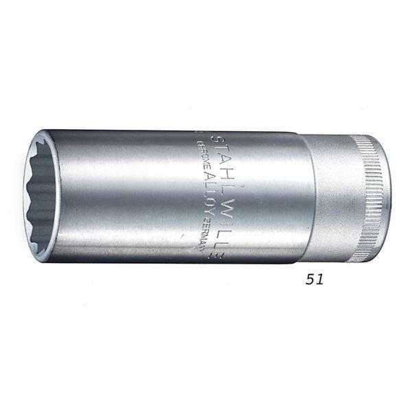 STAHLWILLE(スタビレー) 51A-1.3/8 (1/2SQ)ディープソケット (03420060) 送料込!