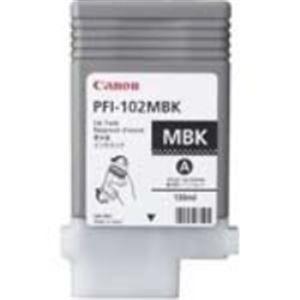 (業務用3セット) Canon キヤノン インクカートリッジ 純正 【PFI-102MBK】 マットブラック(黒) 送料込!