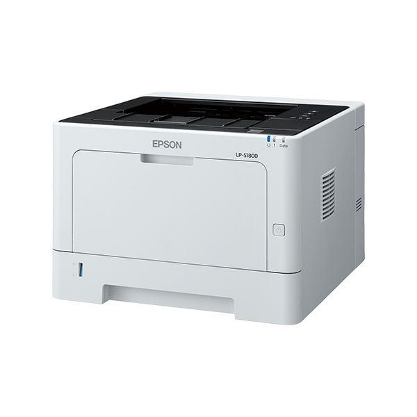 エプソン A4モノクロページプリンター/30PPM/両面印刷/USB/耐久性10万ページ LP-S180D 送料込!