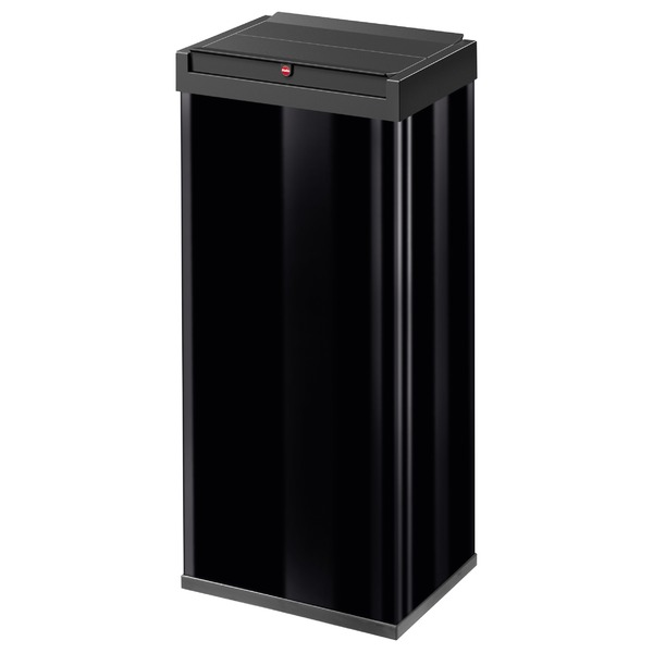 Hailo(ハイロ)ニュービッグボックス60L ブラック(ゴミ箱・ダストBOX) 60083 送料込!
