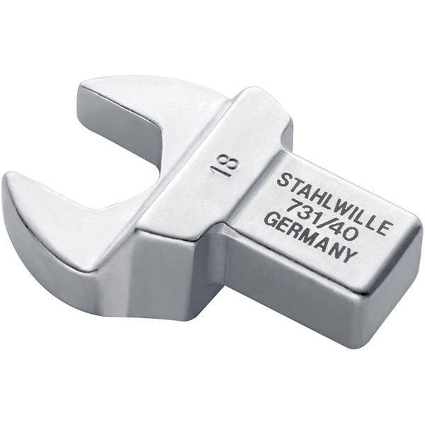 STAHLWILLE(スタビレー) 731/40-25 トルクレンチ差替ヘッド(スパナ)(58214025) 送料無料!