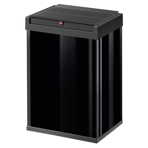 Hailo(ハイロ)ニュービッグボックス40L ブラック(ゴミ箱・ダストBOX)60086 送料込!
