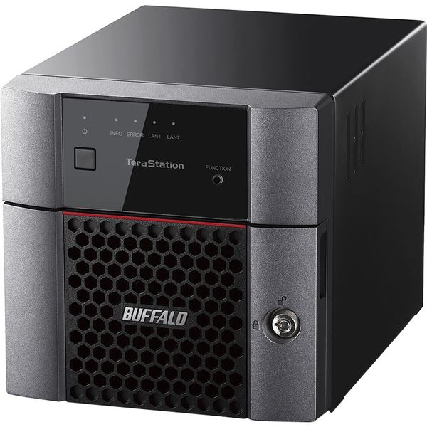 バッファロー TeraStation TS3210DNシリーズ 小規模オフィス・SOHO向け 2ドライブNAS6TB TS3210DN0602 送料無料!