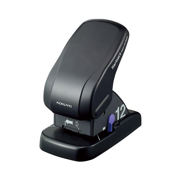 (まとめ) コクヨ 針なしステープラー(ハリナックス) 卓上 12枚とじ SLN-MS112D 1台 【×4セット】 送料無料!
