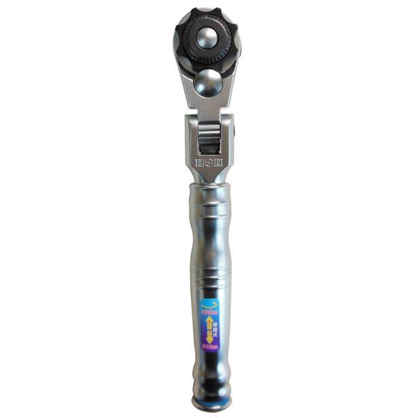 (業務用3個セット) H&H 本締めラチェットレンチ(ラチェットハンドル/作業工具) 差込角12.7mm 首振り 伸縮式 ギア数:72 HHR-40J 1/2 送料無料!