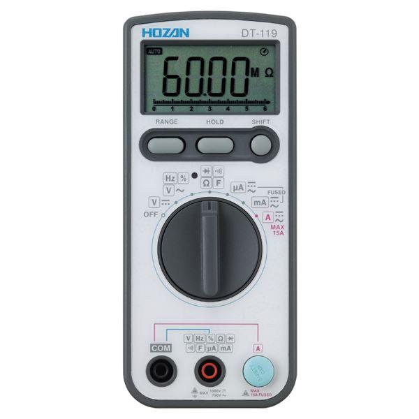 HOZAN DT-119 デジタルマルチメータ 送料無料!