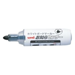 (業務用200セット) 三菱鉛筆 ボードマーカーお知らセンサー 太字丸芯 黒 送料込!
