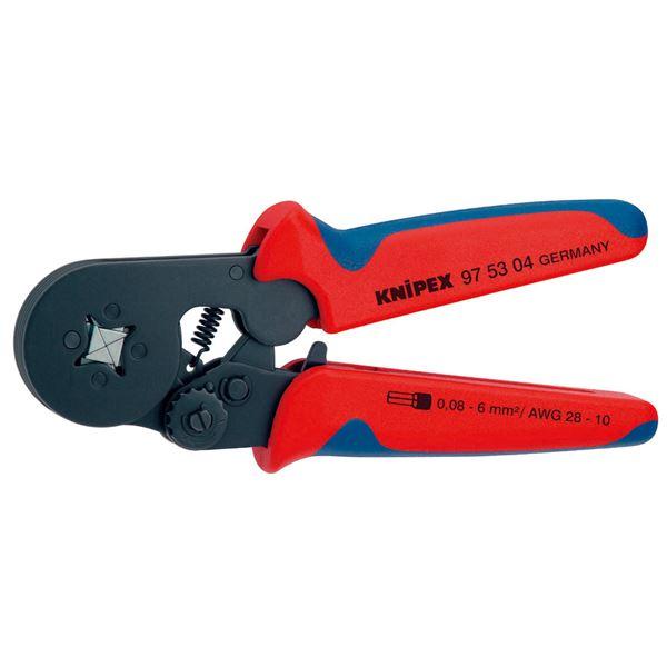 KNIPEX(クニペックス)9753-04 ワイヤーエンドスリーブ圧着ペンチ (SB) 送料無料!