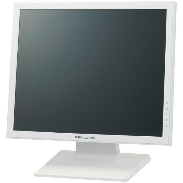 プリンストン 17インチカラー液晶ディスプレイ (ホワイト) 送料無料!