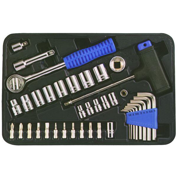 (業務用10個セット) TRAD ソケットレンチセット/作業工具 【39個入り】 フランクドライブ方式 TS39 送料無料!