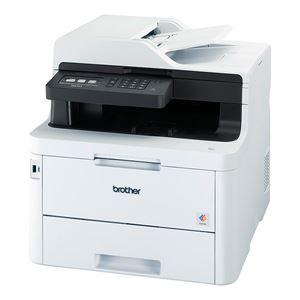 ブラザー工業 A4カラーレーザー複合機/FAX/24PPM/両面印刷/有線・無線LAN/ADF 送料込!