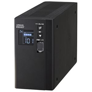 オムロン 公式通販 無停電電源装置 常時商用 正弦波 早割クーポン 400VA 送料無料 縦型 250W BW40T