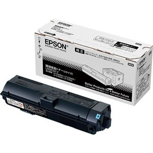エプソン A4モノクロページプリンター用 環境推進トナー/Sサイズ(約2700ページ) 送料無料!