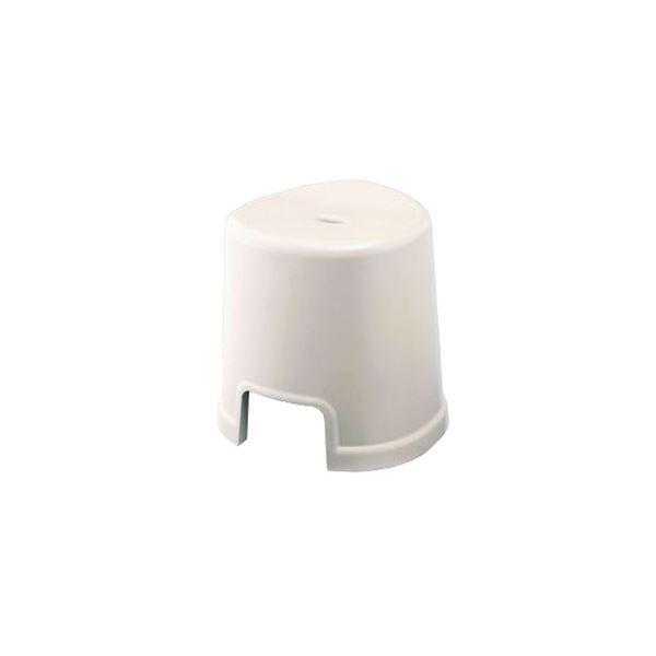 【12セット】 シンプル バスチェア/風呂椅子 【350 ホワイト】 すべり止め付き 材質:PP 『HOME&HOME』【代引不可】 送料無料!