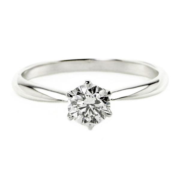 ダイヤモンド ブライダル リング プラチナ Pt900 0.4ct ダイヤ指輪 Dカラー SI2 Excellent EXハート&キューピット エクセレント 鑑定書付き 7.5号 送料無料!