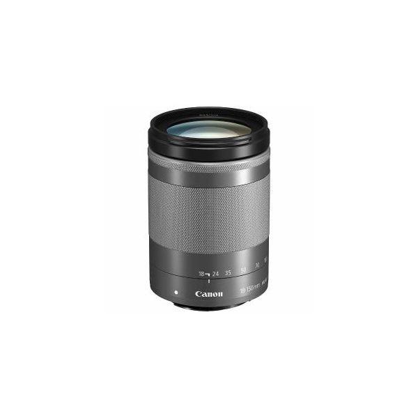 Canon EFM18-150ISSTMSL 交換用レンズ EF-M18-150mm F3.5-6.3 IS STM シルバー EF-M18-150F3.5-6.3I 送料無料!