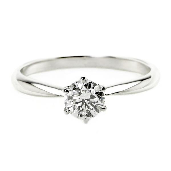 ダイヤモンド ブライダル リング プラチナ Pt900 0.4ct ダイヤ指輪 Dカラー SI2 Excellent EXハート&キューピット エクセレント 鑑定書付き 16.5号 送料無料!
