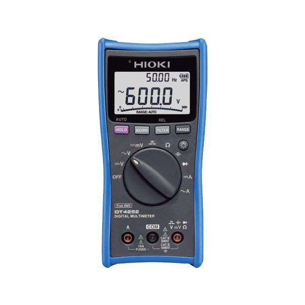 日置電機 デジタルマルチメータ(高精度の直流電圧測定) DT4252【代引不可】 送料無料!
