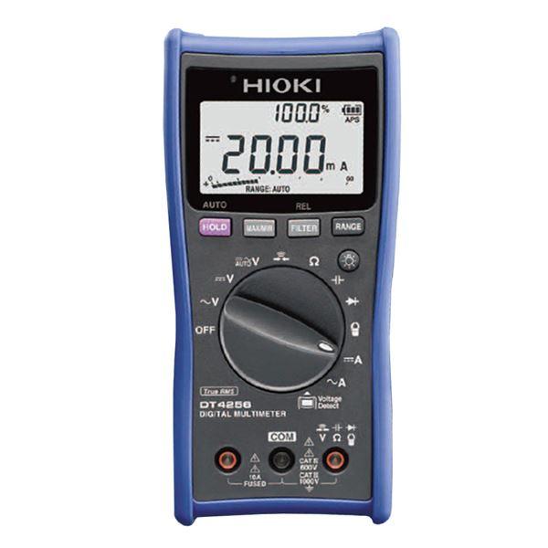 日置電機 デジタルマルチメータ(最多機能/10A端子搭載汎用型) DT4256【代引不可】 送料無料!