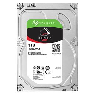 Seagate IronWolfシリーズ 3.5インチ内蔵HDD 3TB SATA 6.0Gb/s 5900rpm64MB 送料無料!
