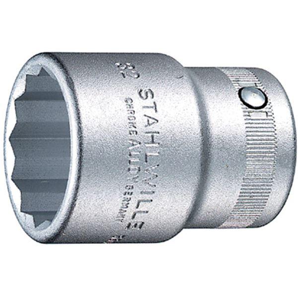 STAHLWILLE(スタビレー) 55A-1.11/16 (3/4SQ)ソケット (12角)(05410067) 送料込!