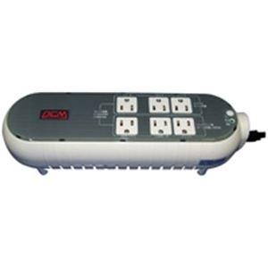 (業務用3セット) パワーコム OAタップ型無停電電源装置 WOW-300R 送料込!