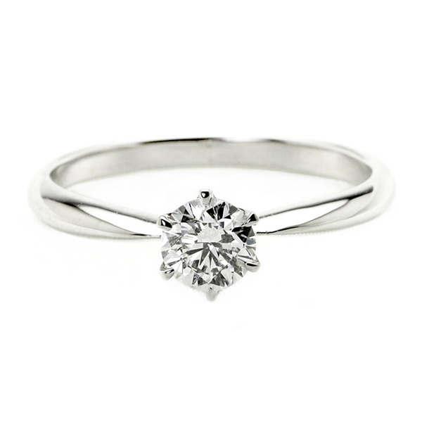 ダイヤモンド ブライダル リング プラチナ Pt900 0.3ct ダイヤ指輪 Dカラー SI2 Excellent EXハート&キューピット エクセレント 鑑定書付き 7.5号 送料無料!