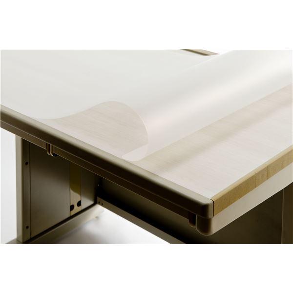 グリーン購入法適合の再生オレフィン樹脂製デスクシート 再生デスクマット EMタイプW 1.5mm厚 1595mm×795mm 下敷なし 反射防止 REM-168S 中古 環境配慮型 両面非転写 送料込 アウトレットセール 特集