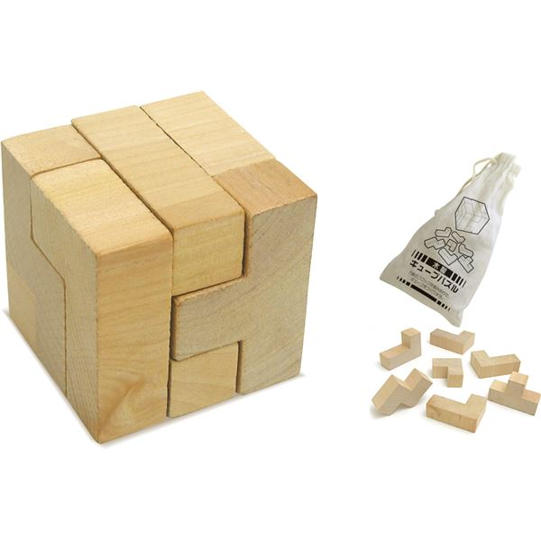 (まとめ)アーテック 木製キューブパズル 【×30セット】 送料無料!