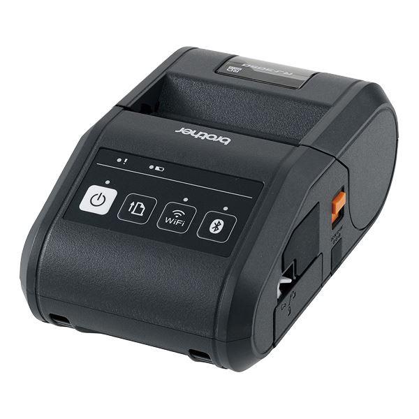 ブラザー工業 ポータブル型感熱ラベルプリンター 送料無料!
