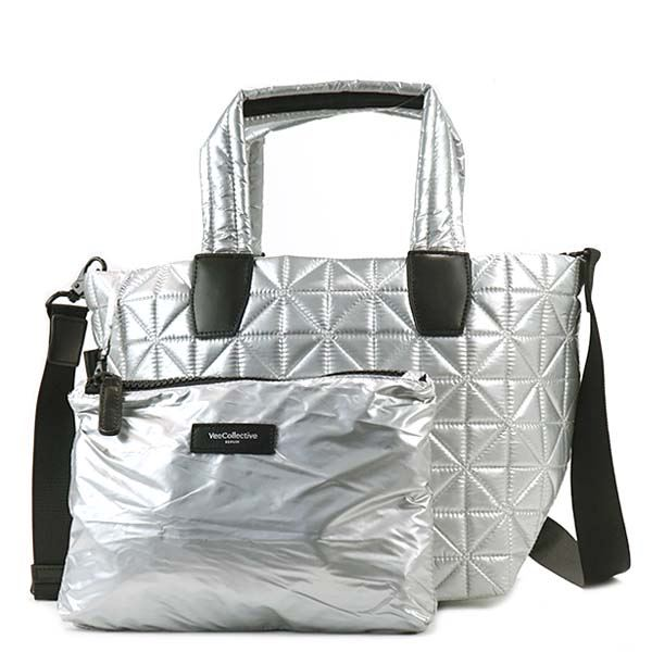 BEECOLLECTIVE(ビーコレクティブ )トートバッグ 101-201-301 METALLIC SILVER 送料無料!