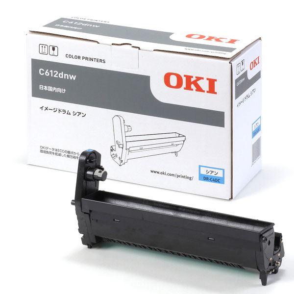 (業務用3セット) 【純正品】 OKI DR-C4DC イメージドラム シアン 送料無料!