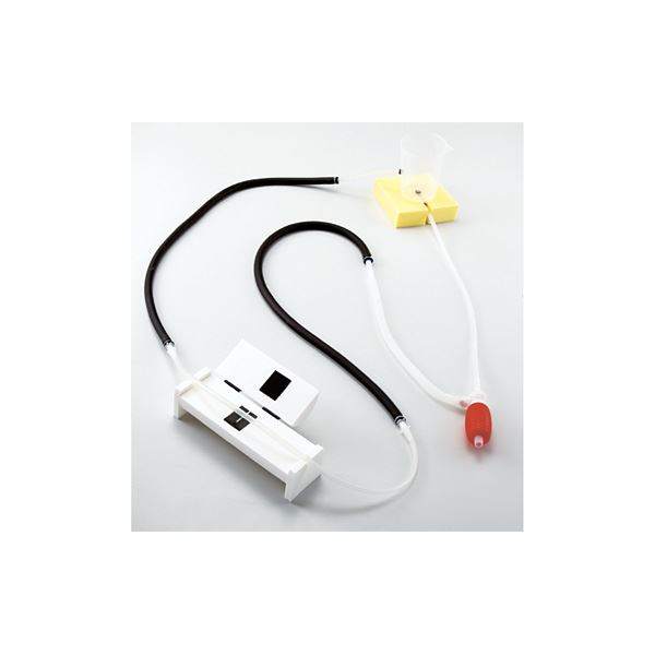 <title>グループ学習で自主的に 血圧測定の原理が学べる画期的な教材 血圧測定原理学習用シミュレーター 看護実習モデル けつあつくん 軽量 コンパクト M-154-0 日本 代引不可 送料込</title>
