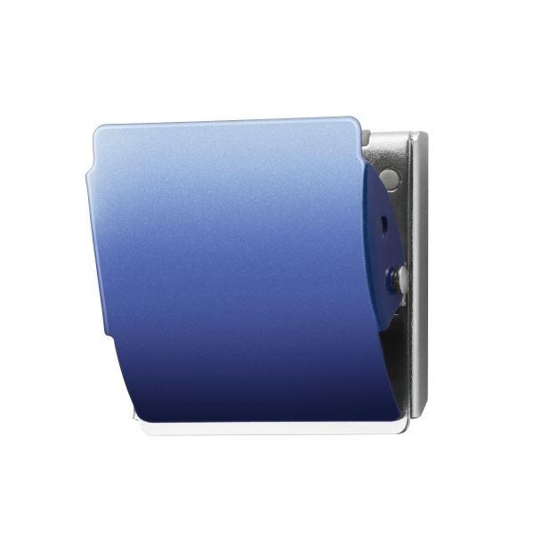 ブルー10個【×5セット】 送料無料! L (まとめ)プラス マグネットクリップCP-047MCR