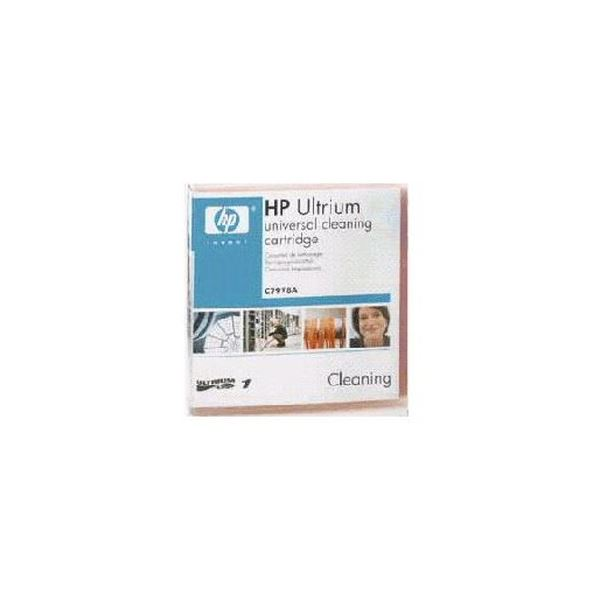 (まとめ)HP LTO Ultrium用 ユニバーサル クリーニングカートリッジ C7978A 1巻【×3セット】 送料無料!