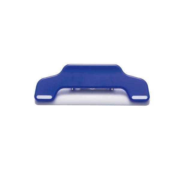 送料無料! 10個【×5セット】 (まとめ)プラス 青 マグネットクリップワイドCP-123MW