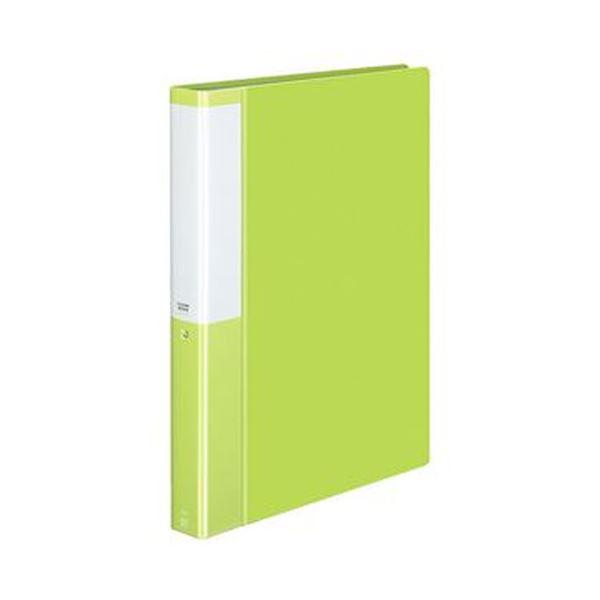 (まとめ)コクヨ クリヤーブック(POSITY)固定式 A4タテ 60ポケット 背幅35mm ライトグリーン P3ラ-L60NLG 1セット(4冊)【×5セット】 送料無料!