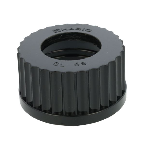 ねじ口キャップ 穴付 即出荷 GL-45 送料込 スピード対応 全国送料無料 016060-045A