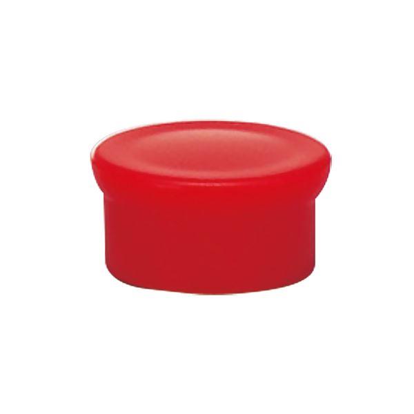 (まとめ) ライオン事務器 マグネット画鋲直径15mm×高さ8mm 赤 MB-15F 1箱(10個) 【×50セット】 送料無料!