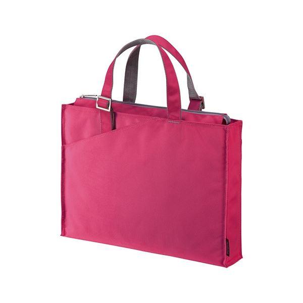 (まとめ) サンワサプライ カジュアルPCバッグ16.4型ワイド対応 ピンク BAG-CA4P 1個 【×5セット】 送料無料!