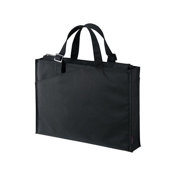 (まとめ) サンワサプライ カジュアルPCバッグ16.4型ワイド対応 ブラック BAG-CA4BK 1個 【×5セット】 送料無料!