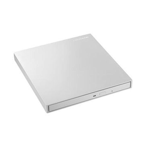 (まとめ)アイオーデータ USB3.0/2.0対応 バスパワー駆動ポータブルDVDドライブ パールホワイト DVRP-UT8LWA 1台【×3セット】 送料無料!