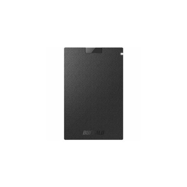 BUFFALO 耐振動・耐衝撃 USB3.1(Gen1)対応 ポータブルSSD 480GB ブラック SSD-PG480U3-BA 送料無料!