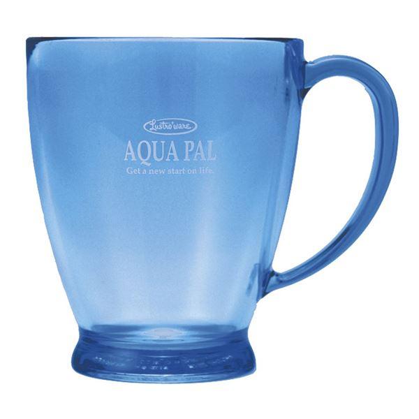 (まとめ) プラスチックコップ/プラカップ 【ブルー】 280ml 熱湯消毒可 キッチン用品 アクアパルカップ 【×60個セット】 送料込!