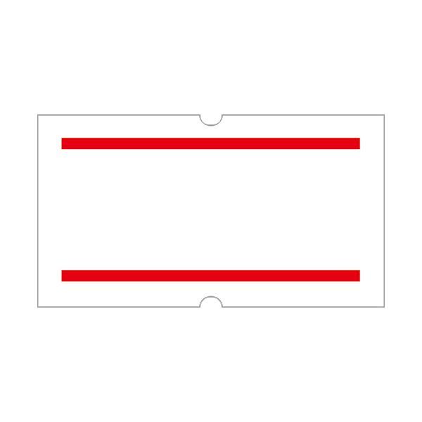 (まとめ) サトー SP用ラベル 赤2本線 219999042 1パック(10巻) 【×10セット】 送料無料!
